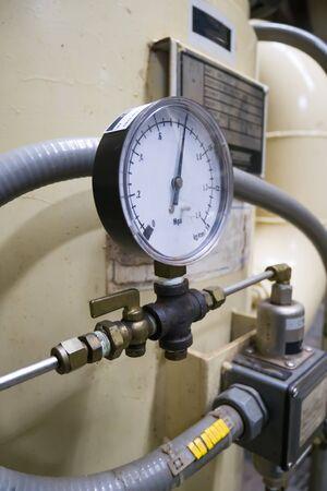 pressure gauge Stok Fotoğraf