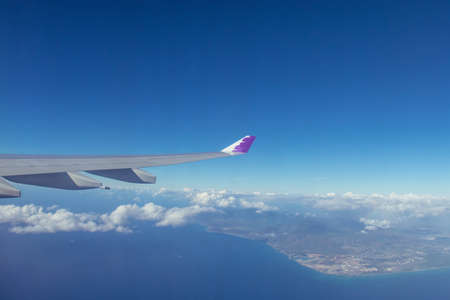View from over Hawaii Oahu 写真素材
