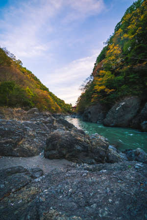 Autumn colors with Takatsudo valley