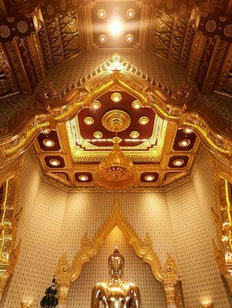 temple thailand: Traimit Witraram Temple ,Thailand Stock Photo