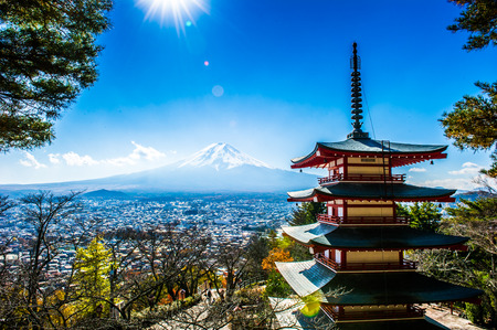 Japan Temple Stock Photo