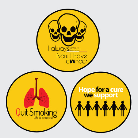 cancer research: Cancer Awareness stickers