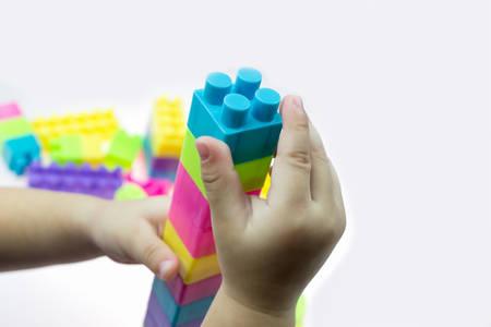 jouet b�b�: jouet de b�b� sur fond blanc Banque d'images