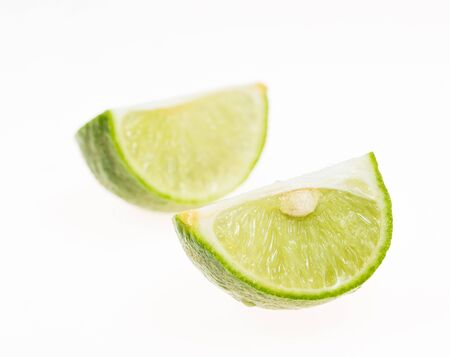 isoleted: cut lemon isoleted Stock Photo