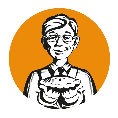 Restaurant, logo vecteur café. chef ou cuisine, cuisine, cuisine vecteur icône logo mascotte Banque d'images - 71090171