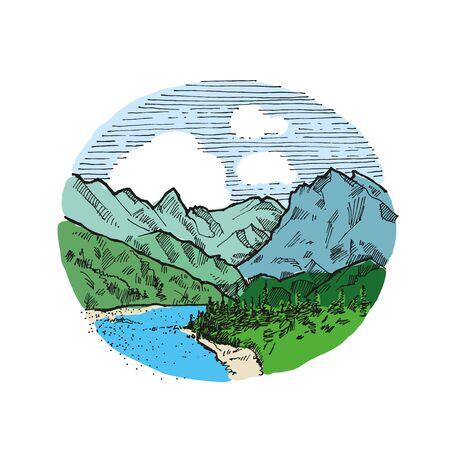 Illustration vintage millésime dessinée à la main EPS10 Banque d'images - 83540927