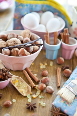 Christmas baking and ingredients Stock Photo - 15610974