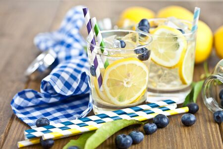 Homemade lemonade Stock Photo - 17796290