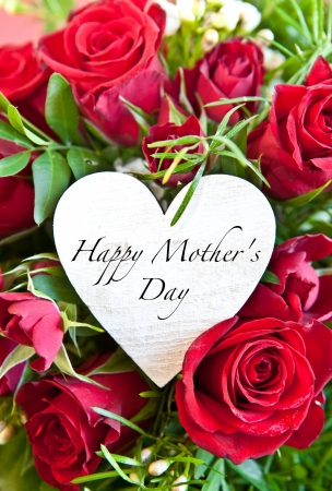 Red roses for mother s day