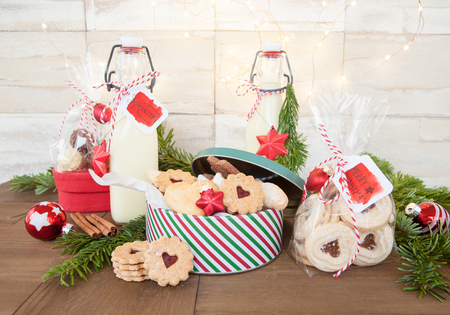 Homemade food presents for a merry christmas