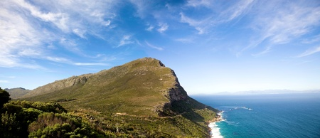 The Cape of Good Hope, adjacent to Cape Point, South Africa. Imagens