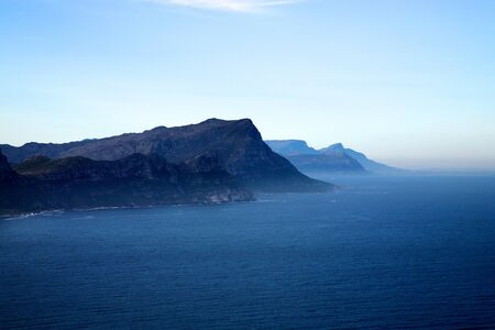 The Cape of Good Hope, adjacent to Cape Point, South Africa. Stock Photo