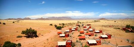Landscape in Namibia - Sossuvlei National Park photo
