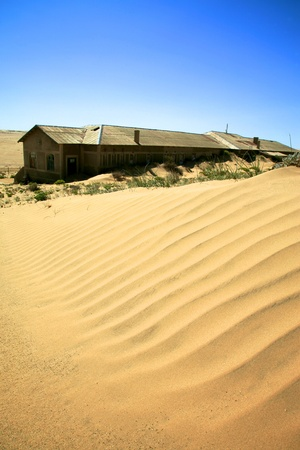 kolmanskop: The Ghost city in Kolmanskop - Luderitz in Namibia.