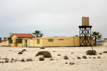 Village of wlotzkasken in namibia close to swakopmund photo