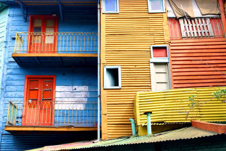 La boca in Buenos Aires - the first italian area of  buenos aires Stock Photo - 12572527