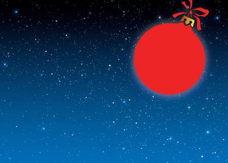 sky, stars background and christmas item  photo