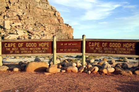 cape of good hope: The Most South-western point of the African continent. Cape Town, South Africa. Editorial