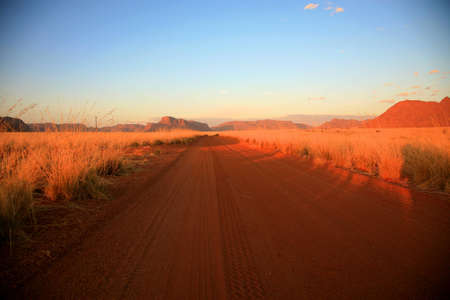 Landscape in the Namib-Naukluft National Park in Namibia photo