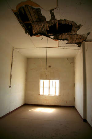 Interior old abandoned house in Luderitz, Namibia. Stock Photo - 12572518