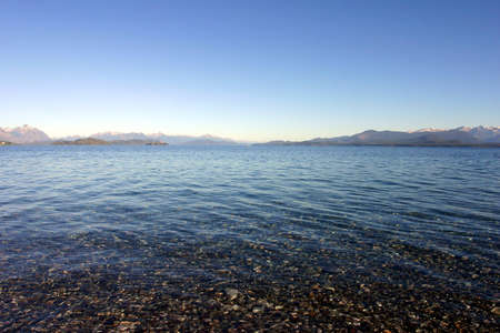 bariloche: Panoramic View on Bariloche the mountains and the Lake - Patagonia
