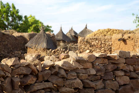 ethnology: The Bandiagara site is an outstanding landscape of cliffs and sandy plateaux with some beautiful Dogon architecture