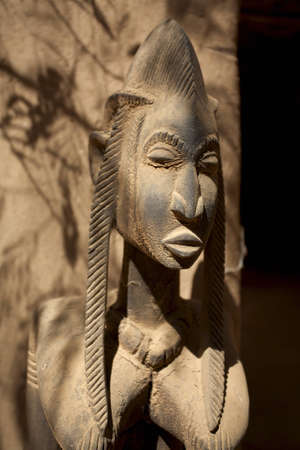 African Dogons sculpture in Mali made in wood