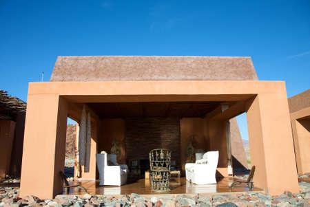 Luxury lodge in the Namibia desert Stock Photo - 12641247