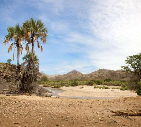 Wild landscape in the Kaokoland.
