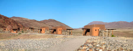 Lodge in Puros, Conservation area in Kaokoland - Namibia Stock Photo - 12660987