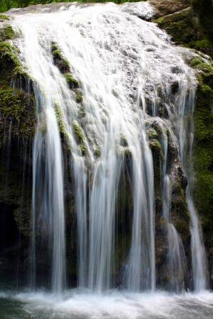 Cascades in spring forest in Crimea in Ukraine Stock Photo - 12798281