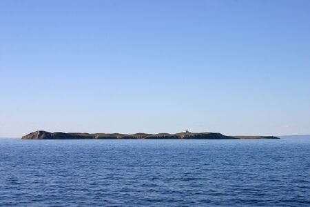 magdalena island in the straits of Magellan Stock Photo