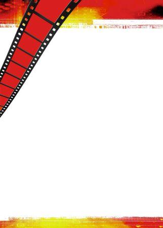 Illustration on the cinema theme illustration