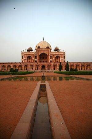 Humayun tomb in New Delhi photo