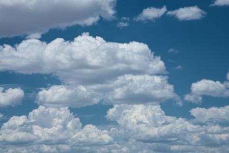 impressive: Impressive sky in Botswana Stock Photo