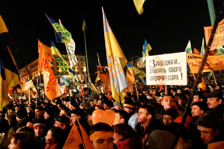election commission: A series of protests and political events that took place in Ukraine from late November 2004 to January 2005, in the immediate aftermath of the run-off vote of the 2004 Ukrainian presidential election which was compromised by massive corruption, voter int