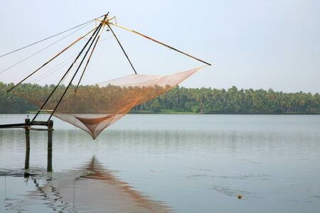 Back Waters in Kerala, India. photo