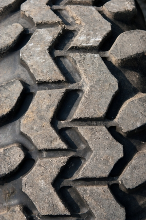Close up of a desert suv 4x4's tire. Stock Photo - 14198713
