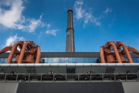 Nanshi Power Plant  is now the first dedicated contemporary art museum in China, in the vibrant city of Shanghai Stock Photo - 20527324