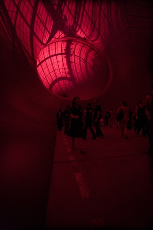 anish: Anish Kapoor: Leviathan, Monumenta 2011, Grand Palais in Paris. Leviathan, was inspired by the 17th century philosopher Thomas Hobbes idea of the state as an unwieldy, inchoate monster, he has advised against over-literal interpretations. Editorial