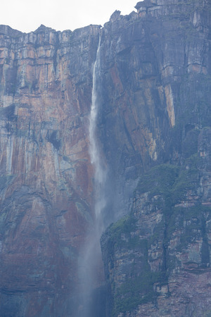 vena: Kerepakupai Vena or Angel Falls, Salto Angel is the worlds highest waterfalls. Bolivar State. Venezuela,