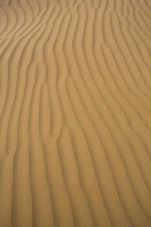 inhospitable: Close of of Sand dunes of Tata in the Sahara Desert, Morocco.