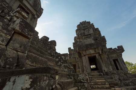 Ta Keo Angkor temple, in Siem Reap Province.