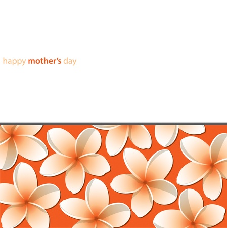 Happy Mother s Day frangible card Vector