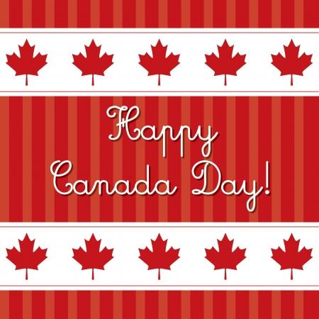 canada day: Happy Canada Day card