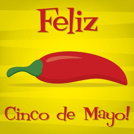 Happy 5th of May  card Vector