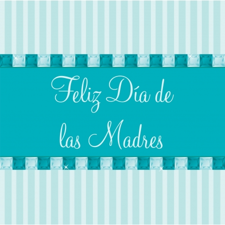 Spanish Mother s Day card Vector