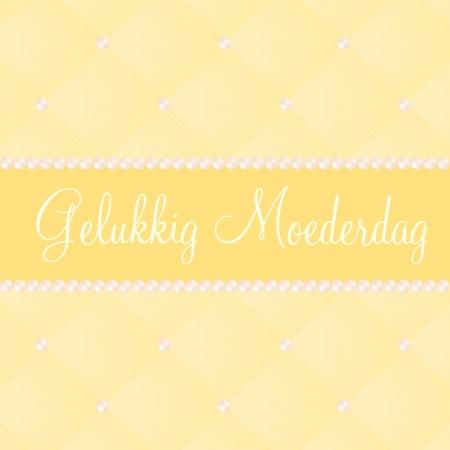 Dutch mother s day card Ilustração