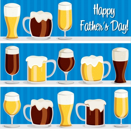 Beer theme Father s Day card