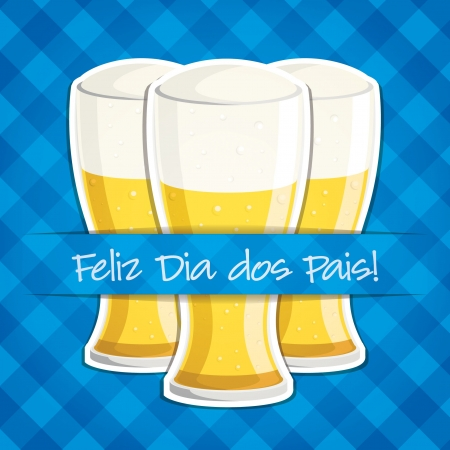 Happy Father s Day  beer card